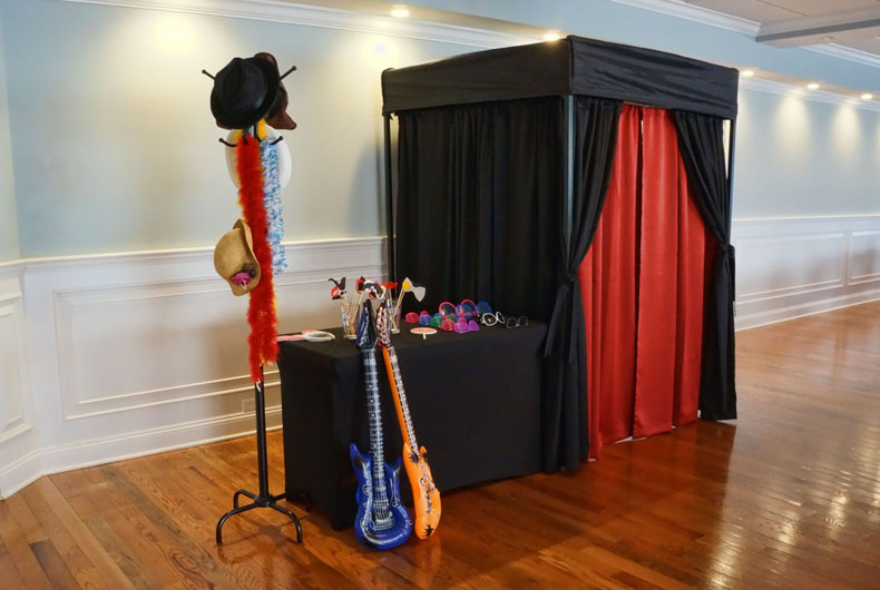 The Little Black Photo Booth!