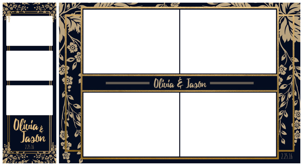 Templates Little Black Photo Booth