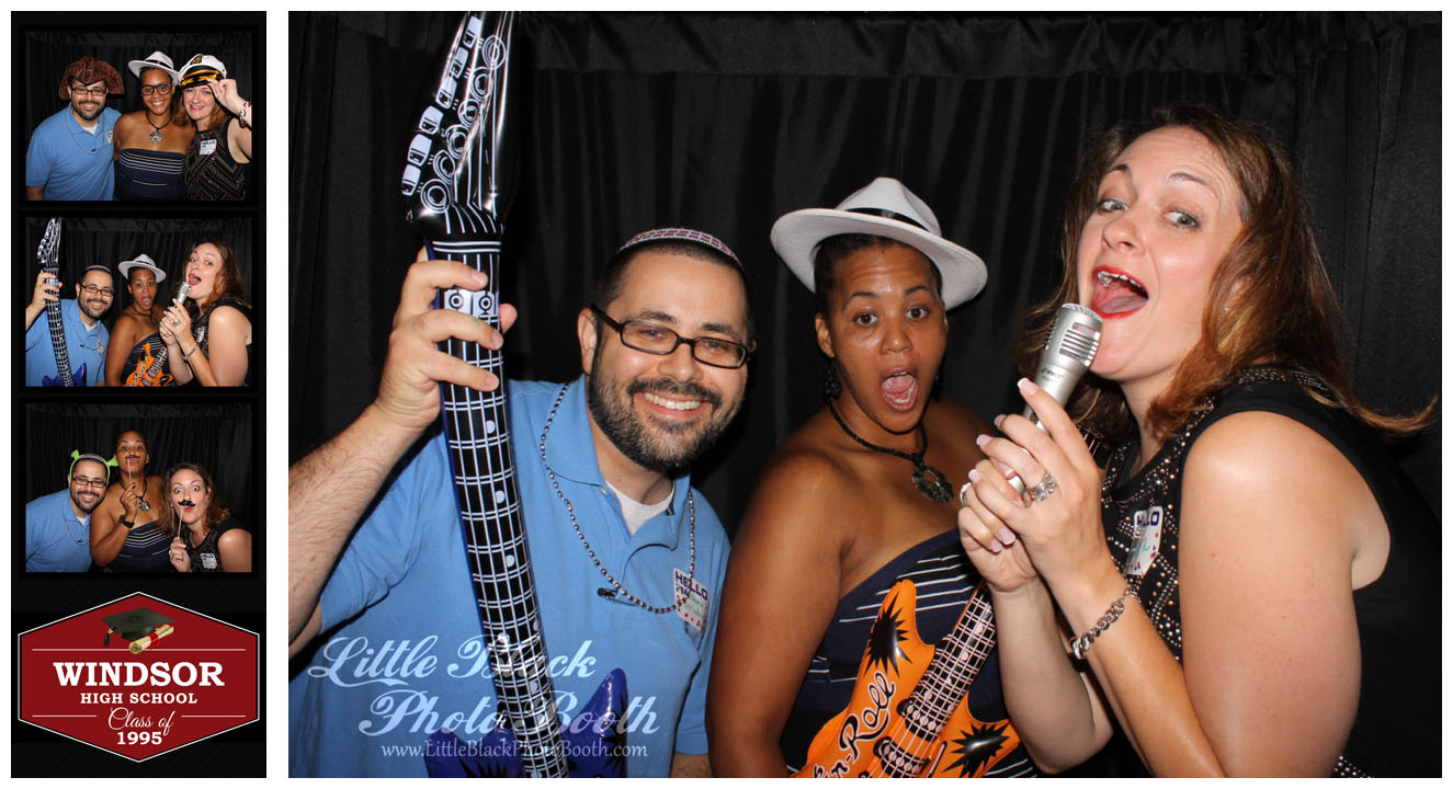 Windsor High School Class of 95 Reunion Photobooth